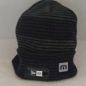 New Era   NWT Men's Pull-On Stripe Hat